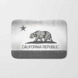 State flag of California Republic - Pencil version Bath Mat