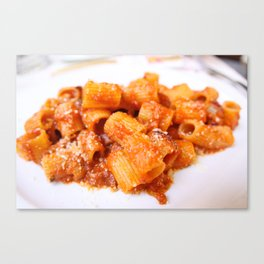 Amatriciana Canvas Print