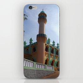 Beachside Mosque Varkala iPhone Skin
