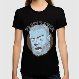 The Wolfman Kindly Requests (v2) T-shirt