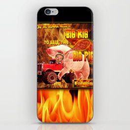 Guy Fieri in his Big Rig iPhone Skin