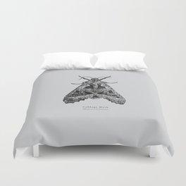 Cabbage Moth [Mamestra brassicae] Duvet Cover