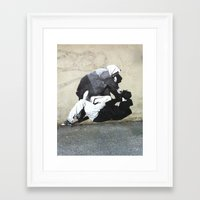 banksy Framed Art Prints featuring BANKSY  by Art Ground