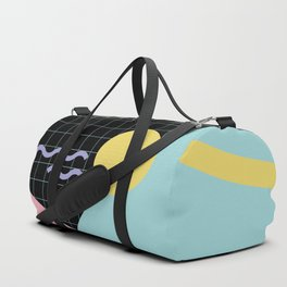 Memphis Pattern 7 - 80s - 90s - Retro Duffle Bag