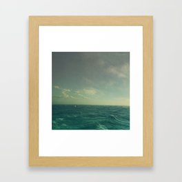 Limitless Sea Framed Art Print