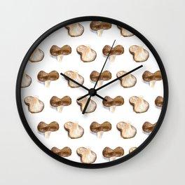 Mushrooms - Ozniot Hakelach Wall Clock