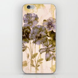faded bouquet iPhone Skin