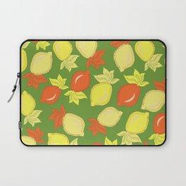 Tumbled Lemons Pattern Laptop Sleeve
