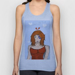 Lady in Strife Unisex Tank Top
