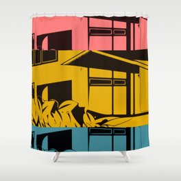PRIMARY GROPIUS Shower Curtain