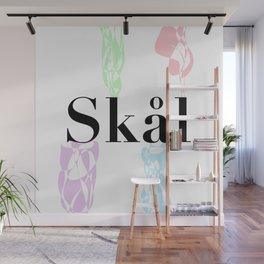 Skål (Cheers) - Colour Wall Mural