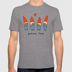 Gnome Love X-LARGE Tri-Grey Mens Fitted Tee