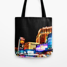 Planet Hollywood Hotel Casino Las Vegas Nevada United States of America Tote Bag