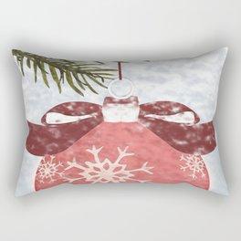 Christmas Ball Rectangular Pillow