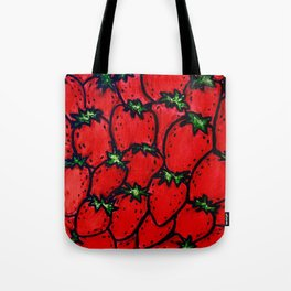 Strawberry jamboree Tote Bag