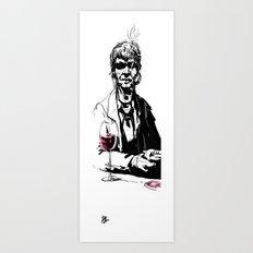 Bandido Bebedo Art Print
