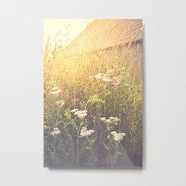 Boho Summer Sunshine Metal Print