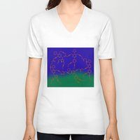 "matisse V-neck T-shirts featuring ""The Dance"" after H. Matisse by Irina Chuckowree"