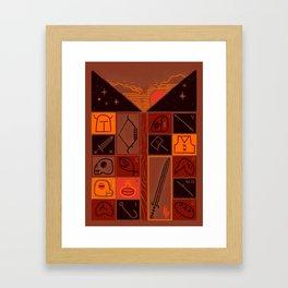 INVENTORY Framed Art Print