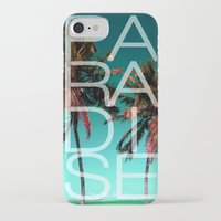 paradise iPhone & iPod Cases featuring PARADISE by Chrisb Marquez