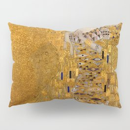 The Woman In Gold Bloch-Bauer I by Gustav Klimt Pillow Sham