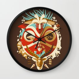 The Days of Gods and Demons Wall Clock