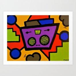 BOOTYSHAKINHEARTBEATS Art Print