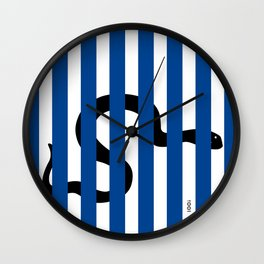 Striped Viper Wall Clock