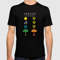 Choice Mens Fitted Tee Black MEDIUM