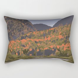 La Mauricie National Park Poster, Quebec Rectangular Pillow