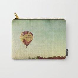 Hot Air Balloon Over Farmland Carry-All Pouch