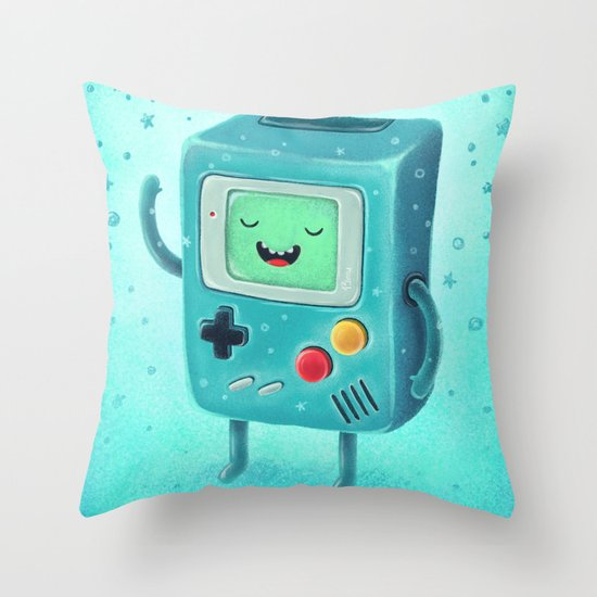 Game Beemo Throw Pillow