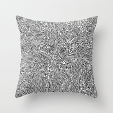 Spaghetti Incident Throw Pillow