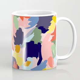 Bright Paint Blobs Coffee Mug