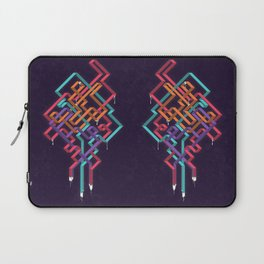 Weaving Lines Laptop Sleeve