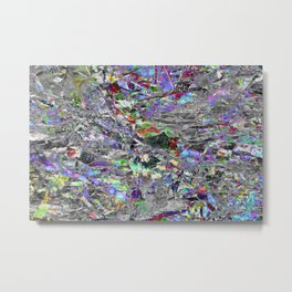 Technicolour: One Metal Print