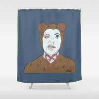 nightmare Shower Curtains featuring Nightmare by Killmonkies