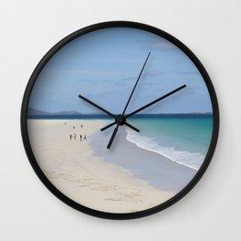 Beach 3 Lewis and Harris 3 Wall Clock