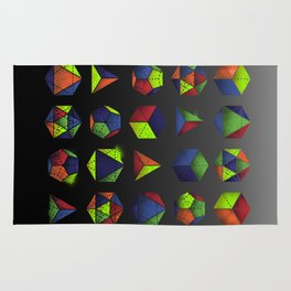 Sacred Shapes & Colors Rug
