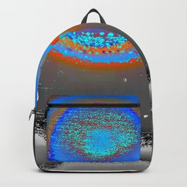 Abstract Landscape Series | Blue Moon Over Night Waters |  | Nadia Bonello Backpack