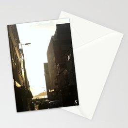 Chilling in the street Stationery Cards