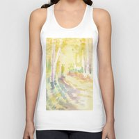 forrest Tank Tops featuring Forrest by Susie McColgan
