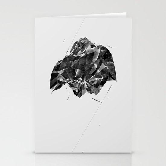 Shattered Spaces Stationery Cards