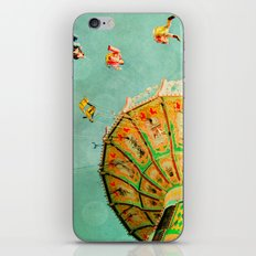 You Spin Me Right Round Carnival Swing iPhone & iPod Skin