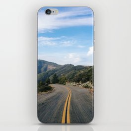 Fairfax-Bolinas Road iPhone Skin