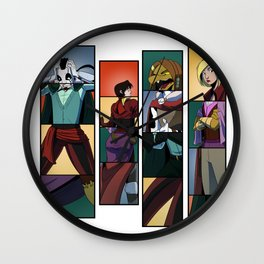 """""""These Boots Were Made For Swappin'"""" - Dungeons & Doritos Wall Clock"""