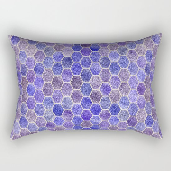 Glitter Tiles VIII Rectangular Pillow