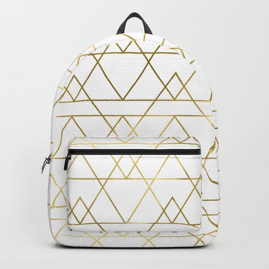 Modern Gold Backpack