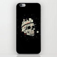 Planet Space Skull  iPhone & iPod Skin
