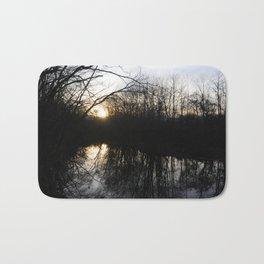 Reflections on Sunset Bath Mat